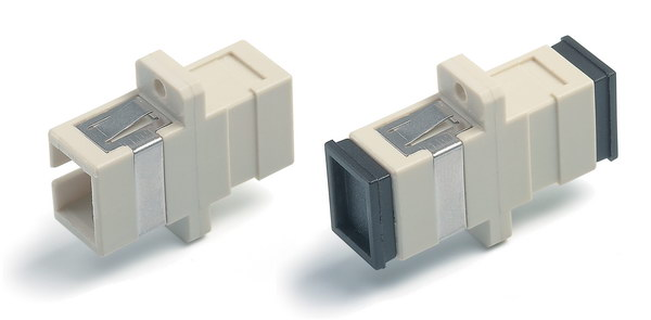 Adapter SC-SC-MM, simplex