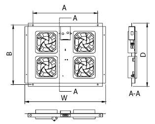Вентиляционная панель для шкафов серии TTC
