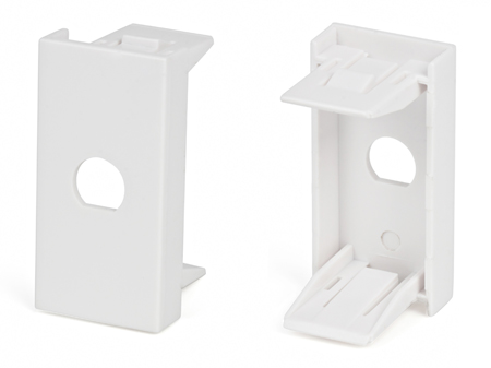 Вставка 45x22,5 для 1 модуля формата Keystone Jack