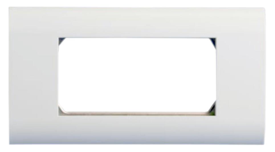 Лицевая панель 80х148 мм для 4-х модулей 45х22.5 мм (аналогов Mosaic)