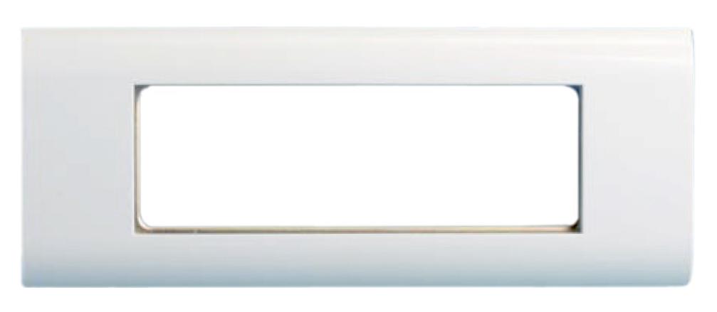 Лицевая панель 80х204 мм для 6-ти модулей 45х22.5 мм (аналогов Mosaic)
