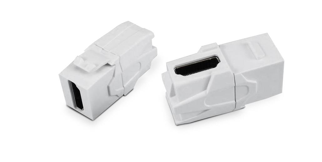 Вставка формата Keystone Jack с проходным адаптером HDMI (Type A)