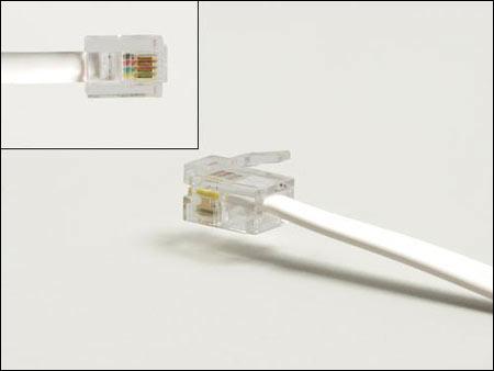 Механическая фиксация кабеля в разъеме осуществляется зажимом в.