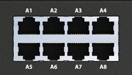 Порты для аналоговых датчиков