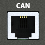 Порт CAN для датчиков и модулей расширения