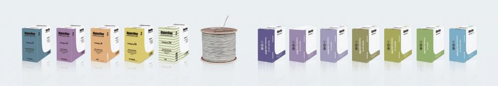Старый дизайн упаковки кабеля